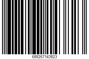 Ahold, Split Top White Enriched Bread UPC Bar Code UPC: 688267143823
