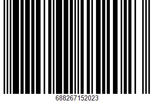 Ahold, Roasted Unsalted Pistachios UPC Bar Code UPC: 688267152023