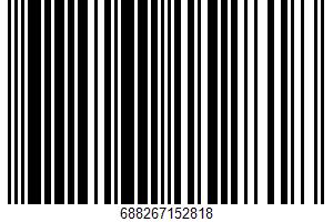Ahold, Meringue Cookies, Lemon UPC Bar Code UPC: 688267152818