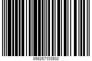 Ahold, Baked Whole Wheat Crackers UPC Bar Code UPC: 688267155802