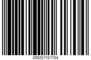 Ahold, Flavored Seltzer Water, Blueberry UPC Bar Code UPC: 688267161704