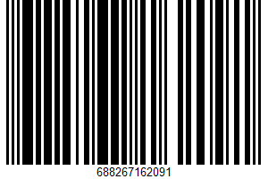 Ahold, Clear Splash, Sparkling Water Beverage, Raspberry Blackberry UPC Bar Code UPC: 688267162091