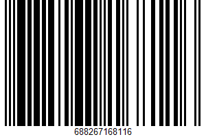Ahold, Deluxe Mixed Nuts UPC Bar Code UPC: 688267168116