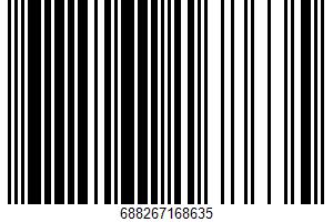 Ahold, Snacking Chocolate UPC Bar Code UPC: 688267168635