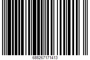Ahold, Flavored Seltzer Water, Watermelon & Lemonade UPC Bar Code UPC: 688267171413
