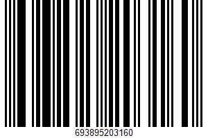 Adobo With Pepper UPC Bar Code UPC: 693895203160