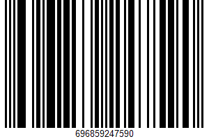 Alabama's Organic Milk UPC Bar Code UPC: 696859247590