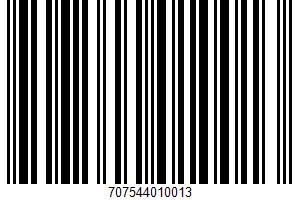 Corn & Wheat Tortillas UPC Bar Code UPC: 707544010013