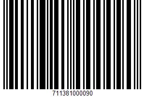 A Classic Fruit Spread UPC Bar Code UPC: 711381000090