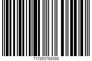 Pepperoni UPC Bar Code UPC: 717265760500