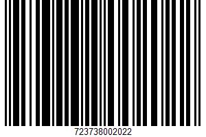 A. Bauer's, Prepared Mustard UPC Bar Code UPC: 723738002022
