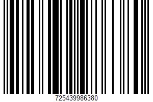 Almondmilk UPC Bar Code UPC: 725439986380