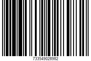 A Dark Chocolate Bar UPC Bar Code UPC: 733549028982