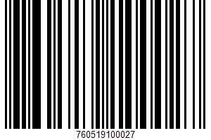 Ah!laska, Organic Cocoa Chocolatey Chocolate Mix UPC Bar Code UPC: 760519100027