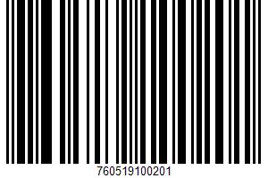 Ah!laska, Organic Chocolate Syrup UPC Bar Code UPC: 760519100201