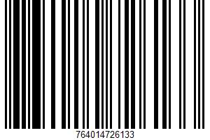 Aidells, Uncured Smoke Ham UPC Bar Code UPC: 764014726133