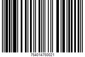 Aidells, Mesquite Uncured Salame UPC Bar Code UPC: 764014760021