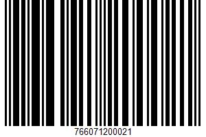 Italian Peeled Tomatoes UPC Bar Code UPC: 766071200021