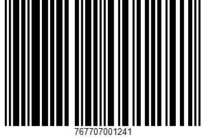 Aged Cheddar 100% Natural Cheese UPC Bar Code UPC: 767707001241