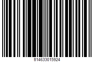 Acidified Sour Cream UPC Bar Code UPC: 814633015924