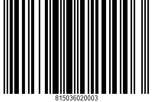 Alaska Smoked Sockeye Salmon UPC Bar Code UPC: 815036020003