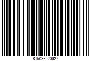 Alaska Salmon Bites UPC Bar Code UPC: 815036020027