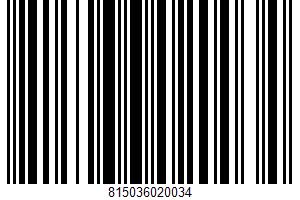 Alaska Salmon Jerky Bites UPC Bar Code UPC: 815036020034
