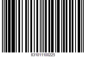 De Land, Crispy Oatmeal Cookies UPC Bar Code UPC: 831011100225