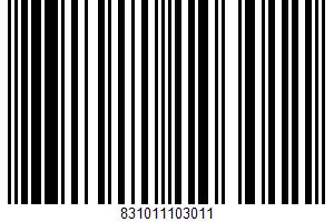 De Land, Gluten Free Chocolate Chip Cookies UPC Bar Code UPC: 831011103011
