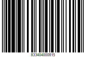 Ackawi Semi - Soft Cheese UPC Bar Code UPC: 833404000815