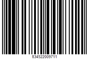 Alaskan Flounder Fillets UPC Bar Code UPC: 834522009711