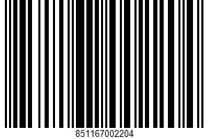 Alaska Roll UPC Bar Code UPC: 851167002204
