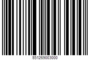 A Peanut Butter Graham Cracker Snack Bar UPC Bar Code UPC: 851269003000