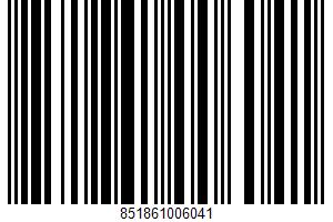 A Bubbly Probiotic Super-tea UPC Bar Code UPC: 851861006041
