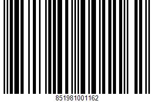Alaskan Salmon UPC Bar Code UPC: 851981001162