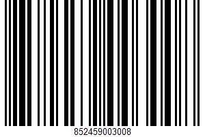 A Real Food Bar UPC Bar Code UPC: 852459003008
