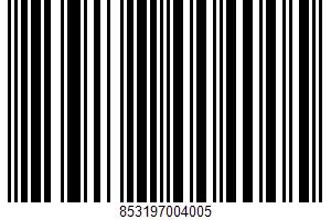 Albacore Tuna Thai Coconut Lemongrass Entree UPC Bar Code UPC: 853197004005