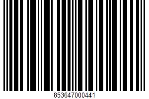 Acai Juice Beverage UPC Bar Code UPC: 853647000441