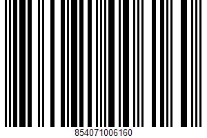 Almetta, Almond Milk Mousse, Strawberry UPC Bar Code UPC: 854071006160