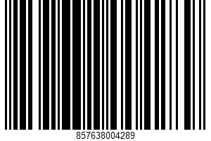 Albacore Tuna With Jalapeno & Olive Oil UPC Bar Code UPC: 857638004289