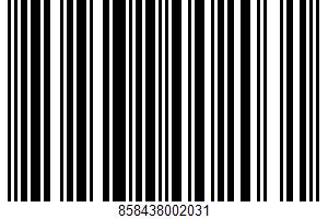 Muffin Mix UPC Bar Code UPC: 858438002031