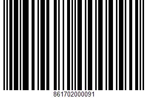 African-style Sauce UPC Bar Code UPC: 861702000091