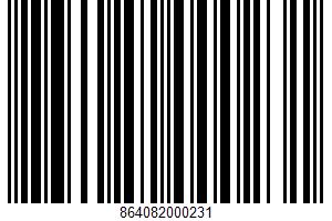 Coconut Cashew UPC Bar Code UPC: 864082000231