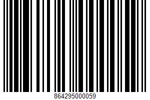 Alcohol-free Mocktail UPC Bar Code UPC: 864295000059