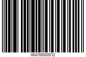 A Southern Non-tradition Chocolate UPC Bar Code UPC: 864768000012