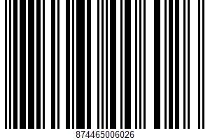 A Couple Of Squares Inc., Sugar Cookies UPC Bar Code UPC: 874465006026