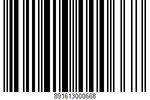 Aged Cheddar Cheese UPC Bar Code UPC: 891613000668