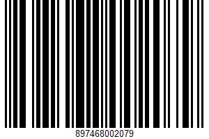 Sugar Cookies UPC Bar Code UPC: 897468002079