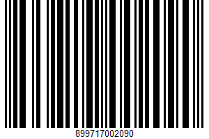 A Real Premium Texas Mixer UPC Bar Code UPC: 899717002090